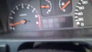 Honda CRX B16A1 EE8 Vtec 0-230 Acceleration