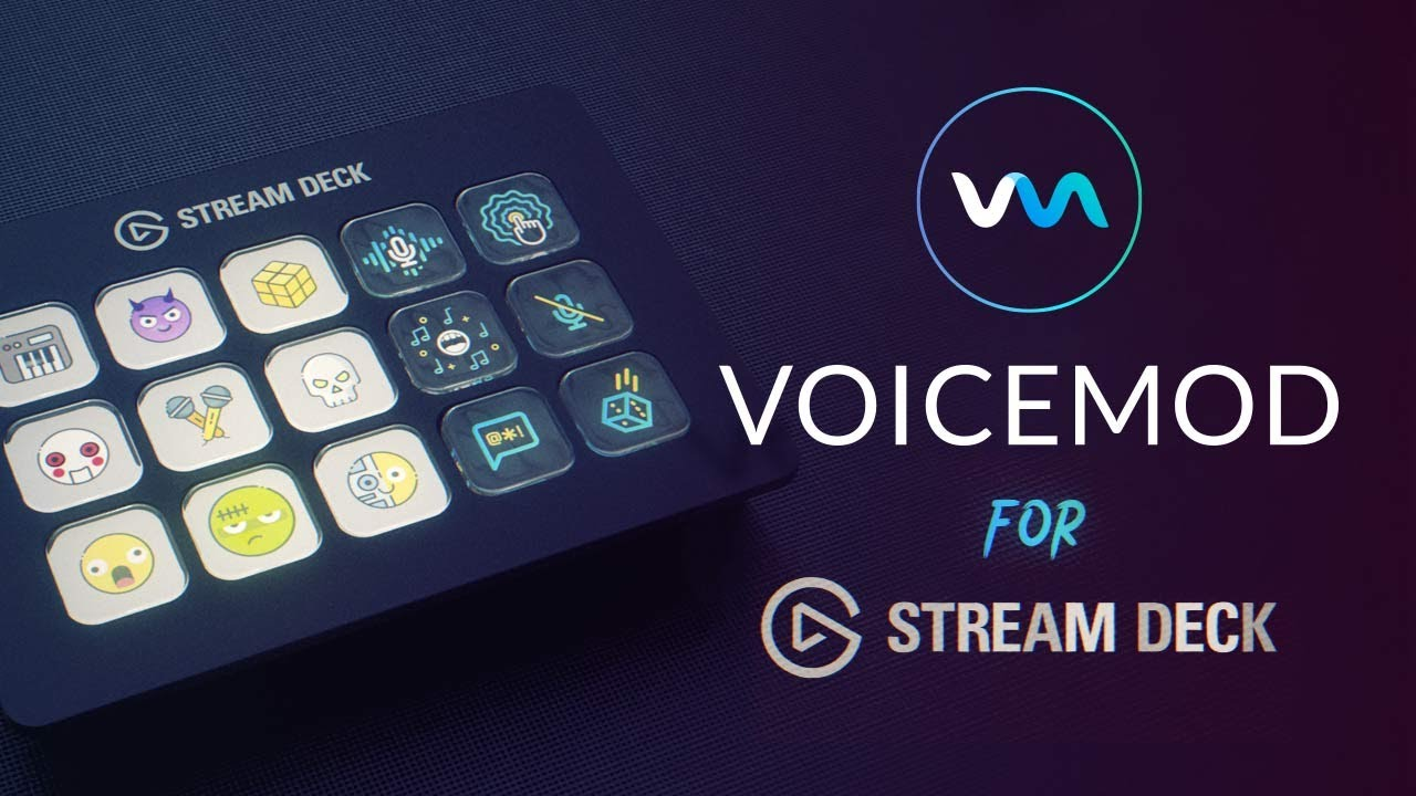 Voicemod Voice Changer for Stream Deck