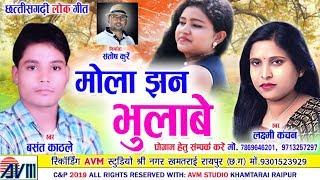 Basant Kathle | Laxmi Kanchan | Cg Song | Mola Jhan Bhlabe | Chhattisgarhi Geet | 2019 | AVM STUDIO