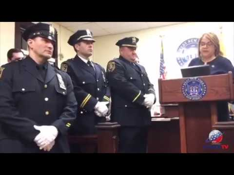 West New York honors law enforcement for assisting during barricaded gunman incident