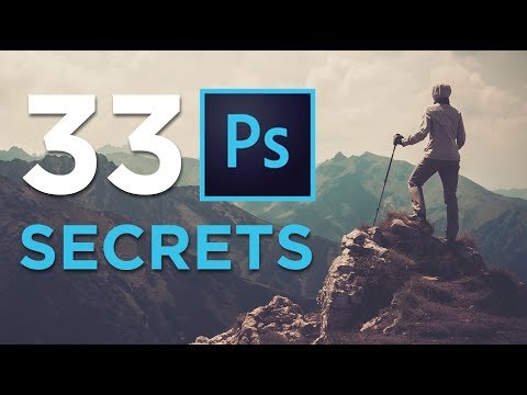 33 Photoshop Secrets