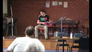 Hector Awol at Accordion Competition - Drover