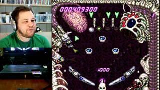 Croooow Plays Alien Crush (TurboGrafx 16)