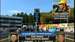 Video Ronnie Humphrey Roger Brogdon PS Final Session Qualifying Greg Anderson InterviewToyo Tires Nationals Maple Grove Reading Pa 2010 download MP3, 3GP, MP4, WEBM, AVI, FLV November 2017