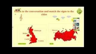 Использование интерактивной доски на уроке. Инструменты программы WizTeach ч.3. Раздел ''География''
