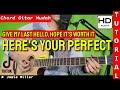 Chord Here's Your Perfect GAMPANG   Lagu Viral Tiktok