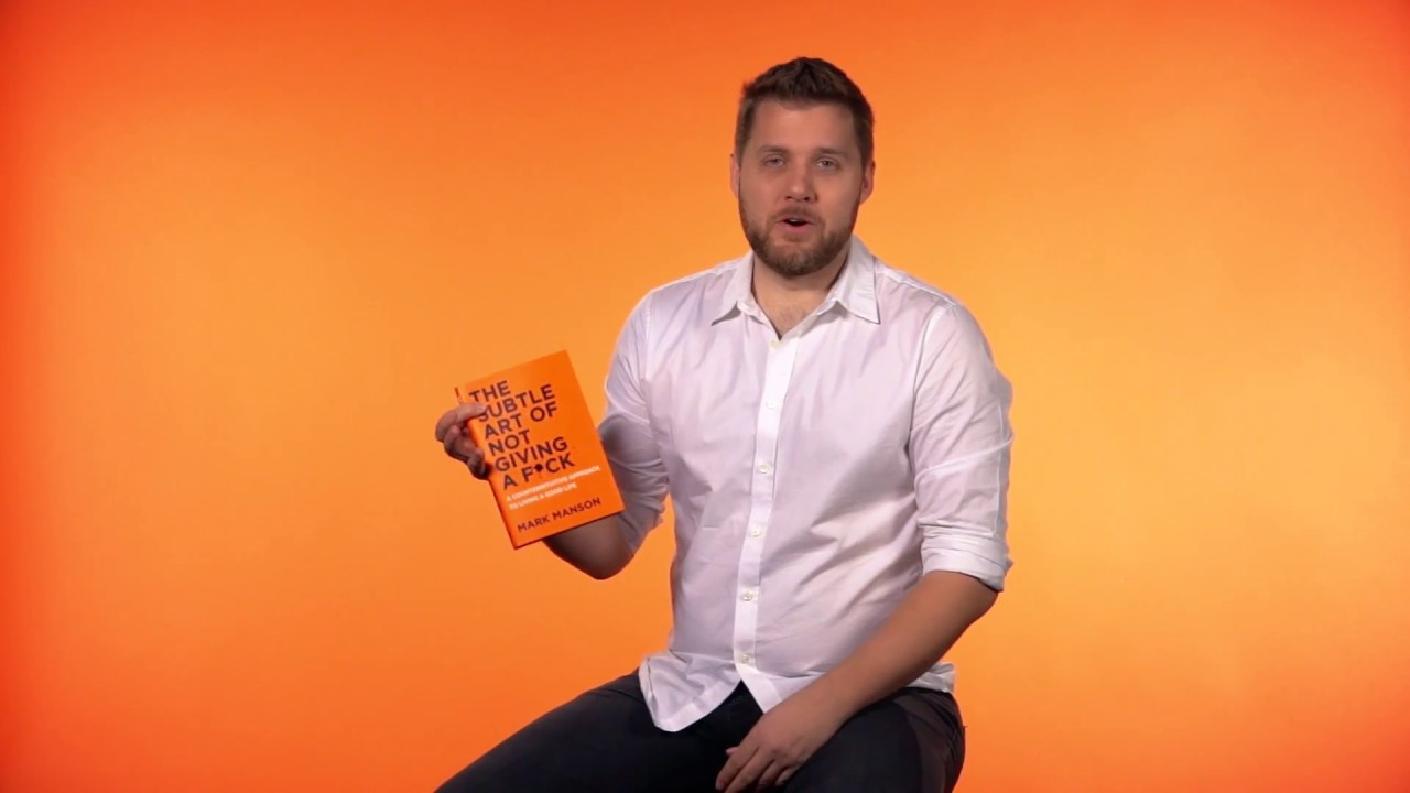 Mark Manson on why you should give a f*ck about his book ...