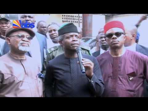 VP Yemi Osinbajo`s Visit to Anambra State