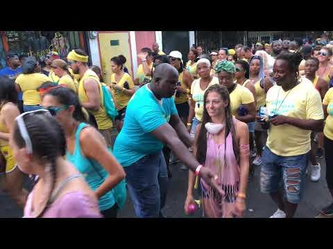 #Antigua & #Barbuda #Carnival Jamming J'Ouvert 2018