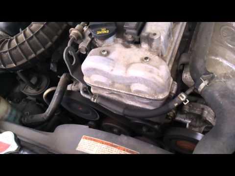 Suzuki Grand Vitara, J20A, Стук при запуске холодного двигателя