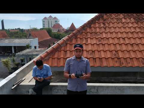 Dronie Shot DJI SPARK at Economic Faculty State University of Malang