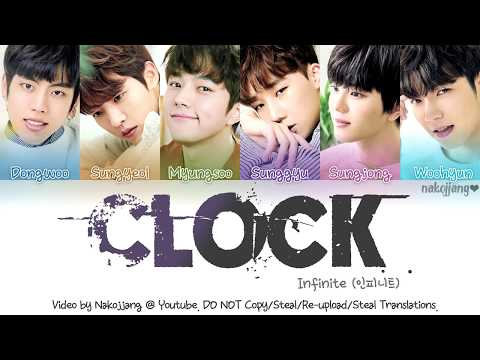 Infinite (인피니트) – Clock (Color Coded Lyrics Eng/Rom/Han/가사)