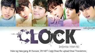 [3.56 MB] Infinite (인피니트) – Clock (Color Coded Lyrics Eng/Rom/Han/가사)