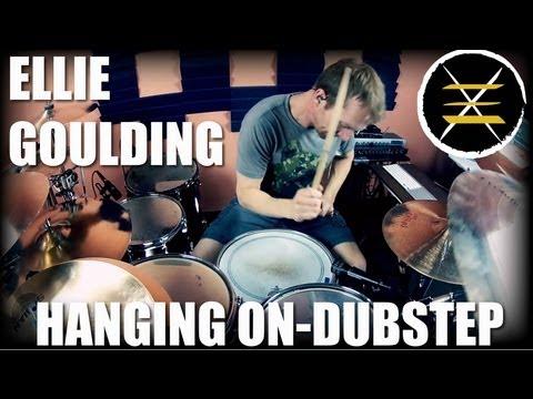 Ellie Goulding-Hanging On-Johnkew Drum Cover-Dubstep Remix