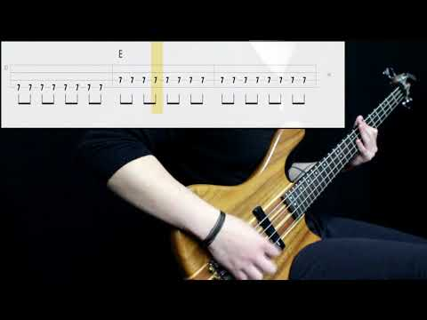 The Strokes - Reptilia (Bass Cover) (Play Along Tabs In Video)