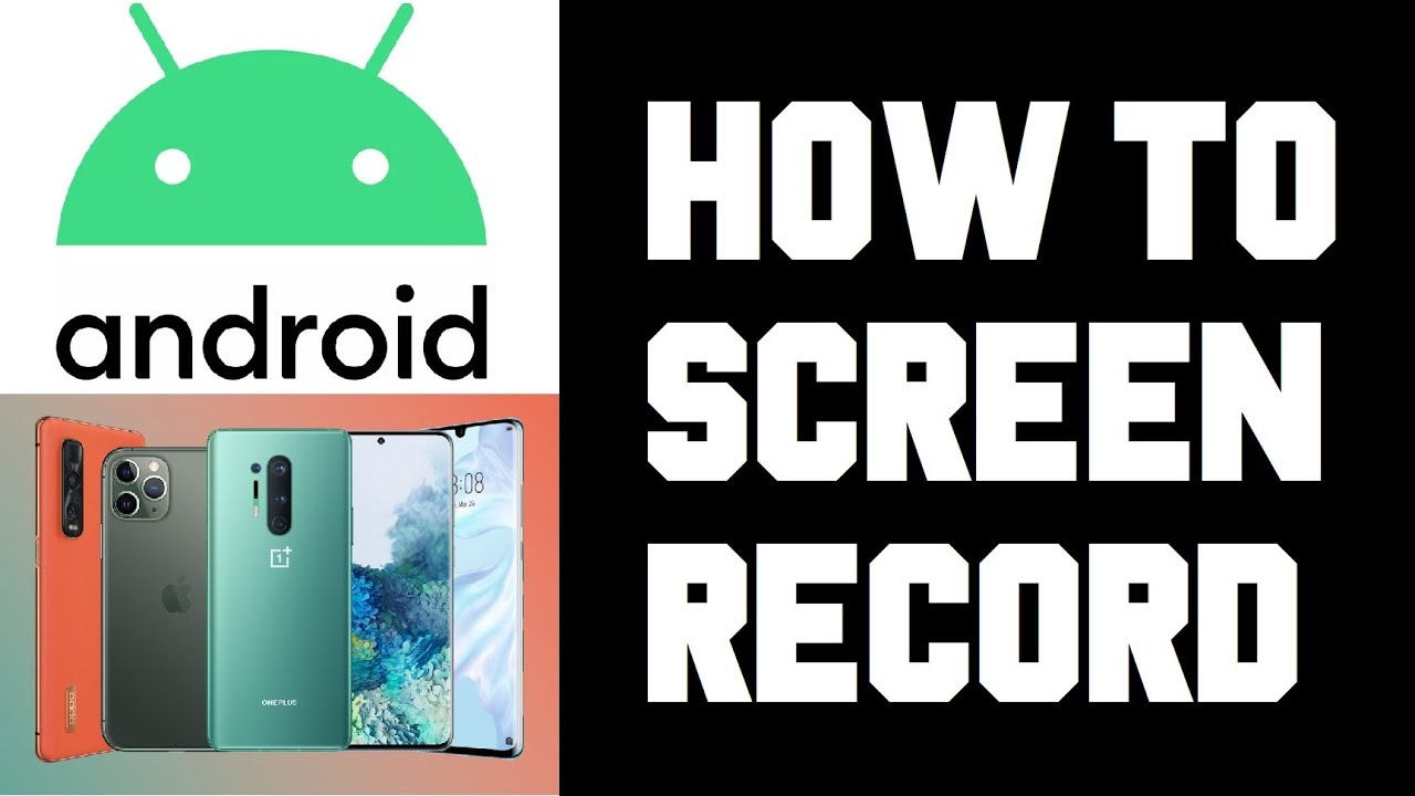 How To Screen Record Android With Sound How To Screen Capture Video On Android Phone Without App Youtube