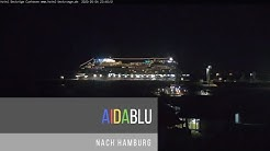 Die AIDABLU am 04.05.20 nach Hamburg