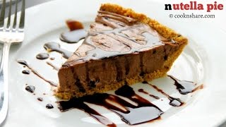 No Bake Nutella Pie  - 5 Ingredients