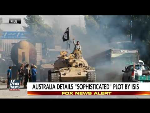 Australia details 'sophisticated' plot by ISIS
