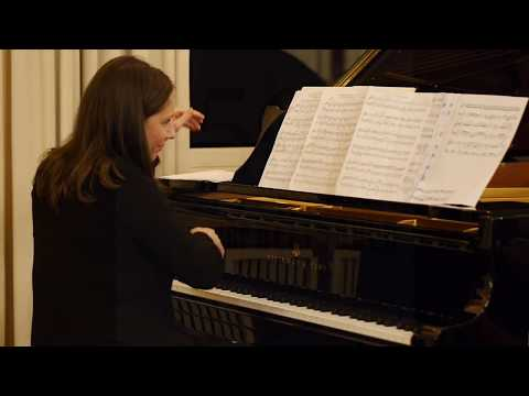 """Ludwig at the silent movies"" played by Susanne Kessel - world premiere"