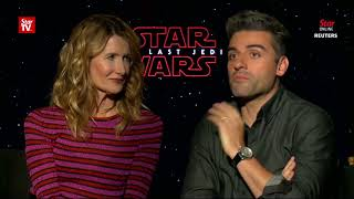 'Star Wars' cast react to 'The Last Jedi'
