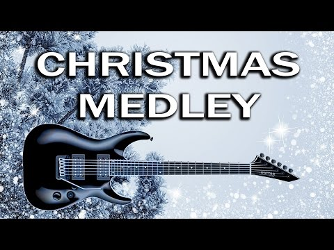 Metal Guitar Christmas Medley