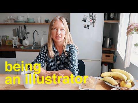 Working for Vogue and Elle: a Berlin-based Illustrator Niina Pechkovskaya
