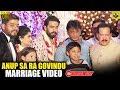 Download Duniya Vijay In Sa Ra Govindu Son Marriage   Duniya Viji   Anup Sa Ra Govindu & Meghana Wedding