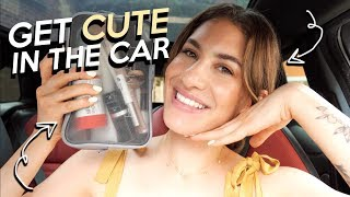 Look Good QUICK: In The CAR! (Sweat Friendly!) | Jamie Paige