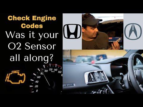 Oxygen Sensor O2 Discussion Fault Code P0170 P0171 CEL Honda Acura CL  '97-rough idle-check engine 3