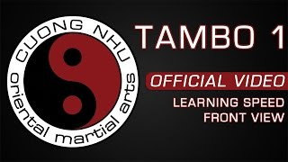 Cuong Nhu Tambo 1 - Official Kata - Learning Speed - Front View