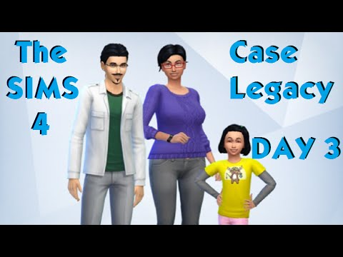 Sims 4 case legacy day 3 2 4 youtube for Case the sims 3 arredate