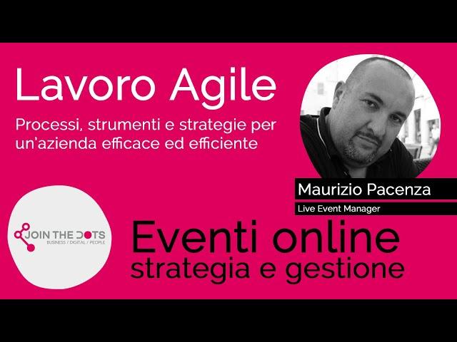 Eventi online: strategia e gestione