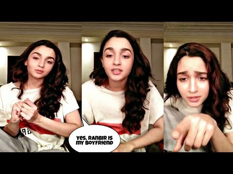 Alia bhatt live video | talk about Ranbir kapoor | latest video