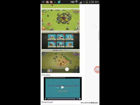 Modded clash of clans Part1