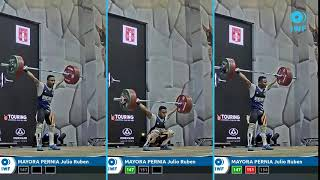 MAYORA PERNIA Julio Ruben 73KG - Grand Prix Lima - snatch