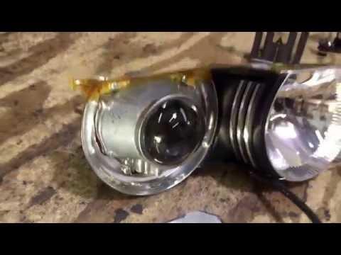E46 ZKW Projector Retrofit - Defective Burned Bowls