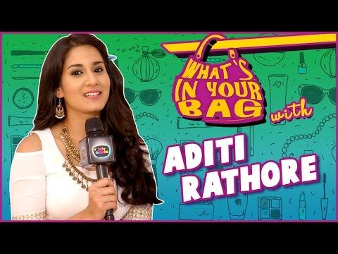 ADITI RATHORE aka AVNI's Handbag SECRET REVEALED   What's In Your Bag   TellyMasala thumbnail