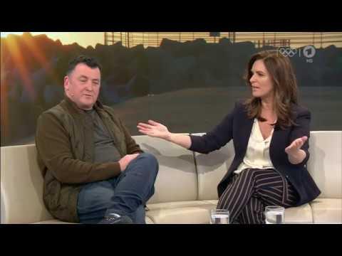 Brian Orser and Katarina Witt Interview ARD 2018 Pyeongchang Olympics
