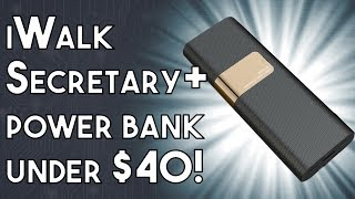 iWalk Secretary Plus, 20,000mAh power bank for under $40