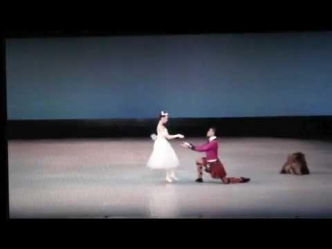 Fernando Montano & Akane Takada ( La Sylphide )