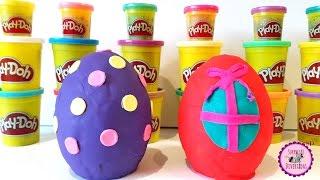 huevos sorpresa grandes de play doh juguetes de polly pocket baba ciu y huevos sorpresa