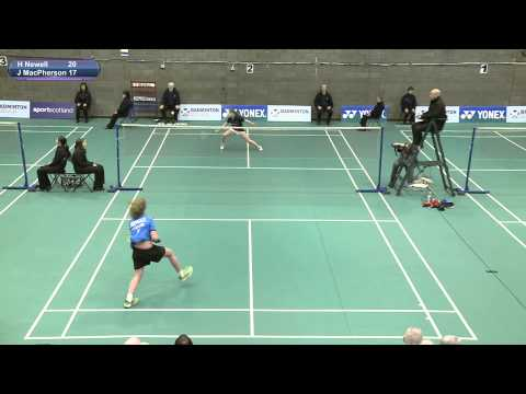 U-17 Girls Singles Final - Scottish National Junior Championships 2014