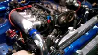 AE86 Corolla 4AGE 20v turbo project...running