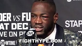 "(WHOA!) DEONTAY WILDER QUESTIONS COUNT ON 2ND TYSON FURY KNOCKDOWN: ""I THOUGHT I HAD HIM OUT"""
