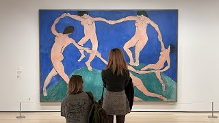 MoMA 뉴욕 모마 미술관, 앙리 마티스의 댄스(I) …