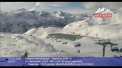 Obertauern - web cam 11. 11. - Ski opening 21.11.