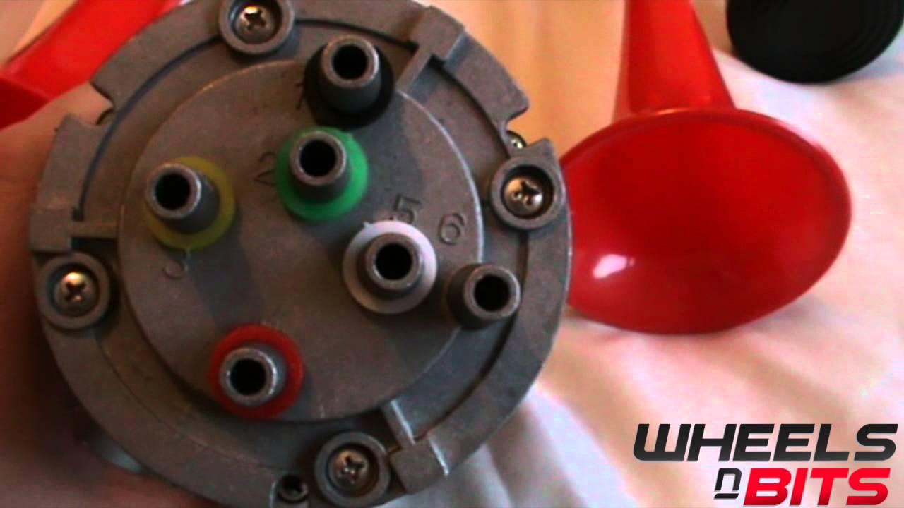 medium resolution of 12v la cucaracha musical air horn powerful type wheels n bits with pump