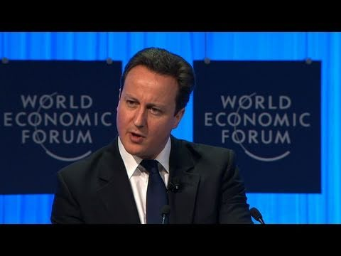 Davos Annual Meeting 2011 - David Cameron