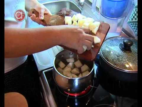 как приготовить компот из дыни